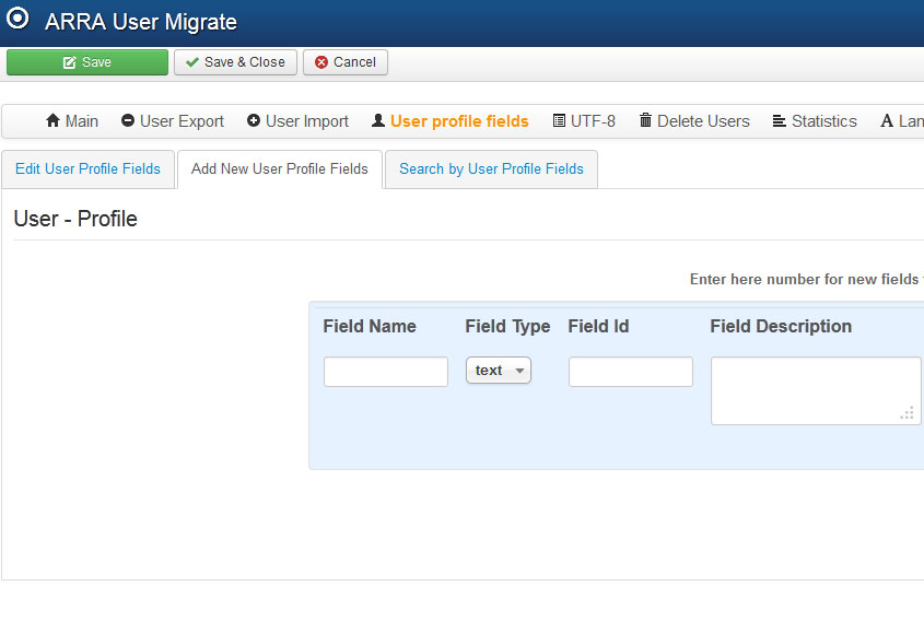 joomla 3 custom user fields