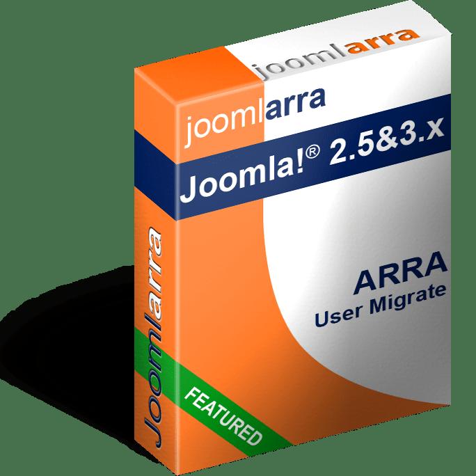 Joomla 3 User Migrate