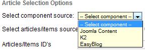 joomla k2 easyblog support